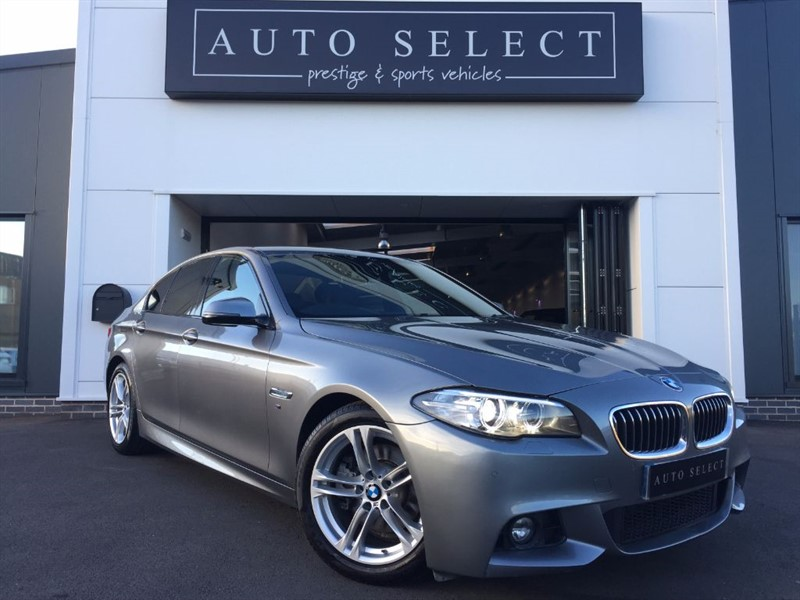 used BMW 525d 2.0d M SPORT MASSIVE SPEC!! PRO NAV!! in chesterfield