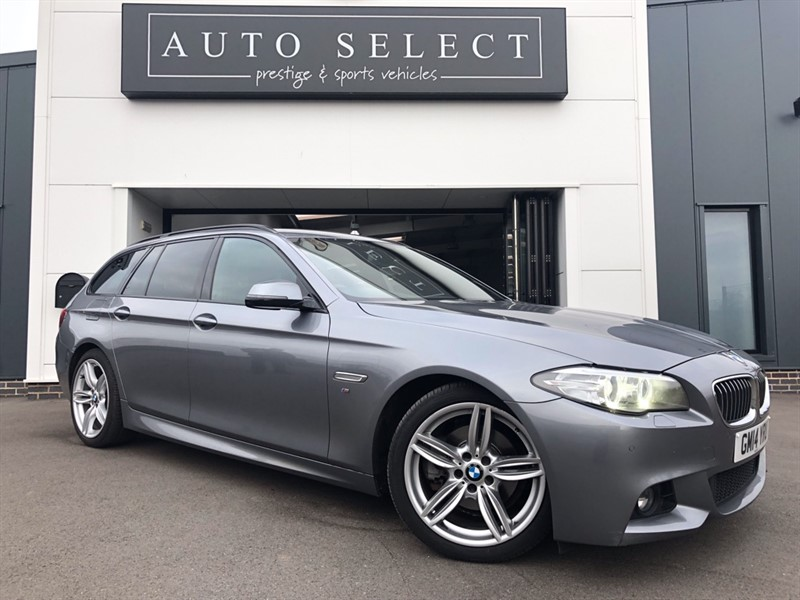 used BMW 520d 2.0d M SPORT TOURING AUTO PROFESSIONAL NAVIGATION in chesterfield