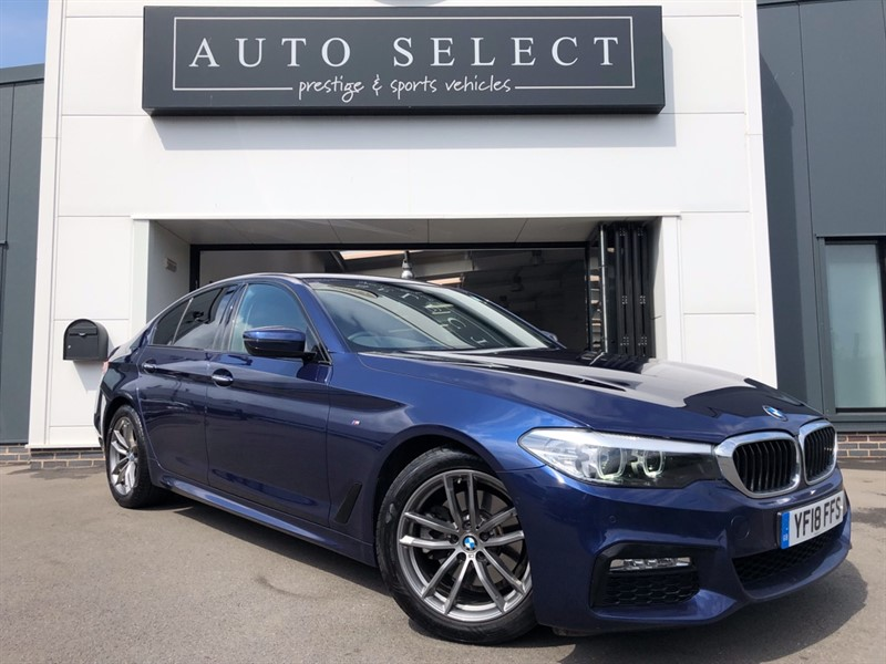 used BMW 520d 2.0d M SPORT 1 OWNER!! STUNNING!! in chesterfield