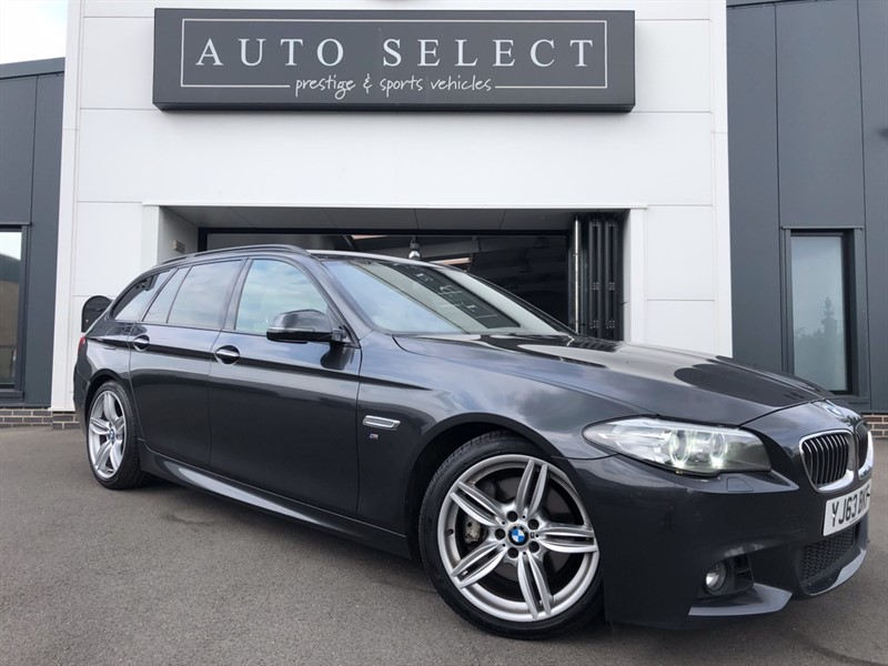 used BMW 530d 3.0d M SPORT TOURING FACE LIFT PRO NAV!! STUNNING!! in chesterfield
