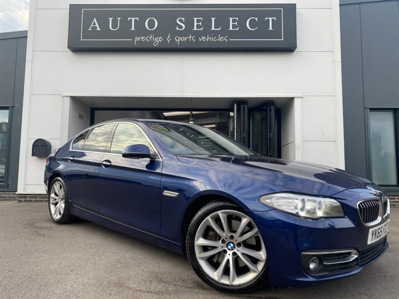 used BMW 530d 3.0d LUXURY PRO NAV!! in chesterfield