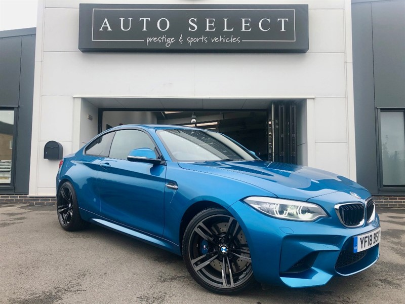 used BMW M2 3.0i M2 1 OWNER!! IMMACULATE!! MASSIVE SPEC!! in chesterfield