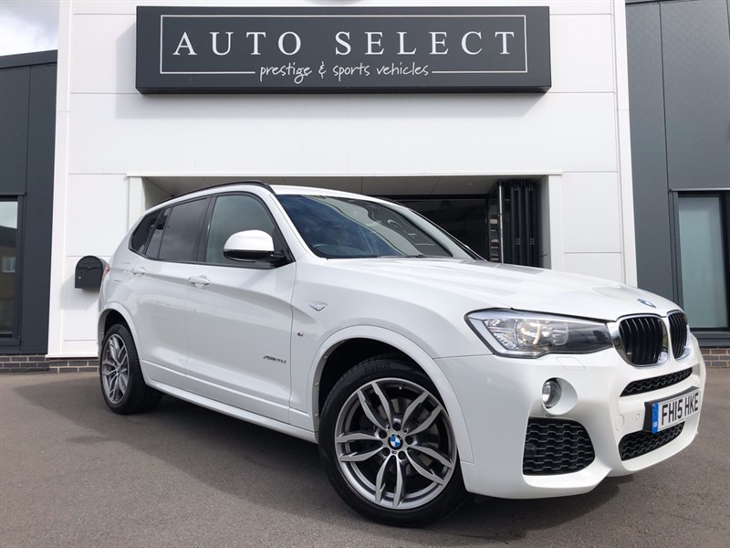used BMW X3 XDRIVE20D M SPORT in chesterfield