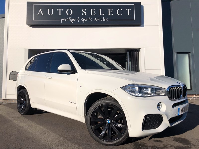 used BMW X5 XDRIVE30D M SPORT 20 in chesterfield