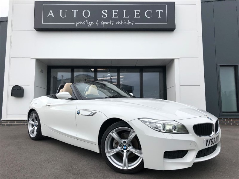 used BMW Z4 SDRIVE18I M SPORT ROADSTER STUNNING CAR!! in chesterfield