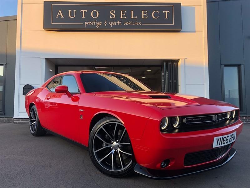 used Dodge Challenger 6.4 V8 SRT SCAT PACK UK SPEC NVA TESTED 500BHP!! in chesterfield