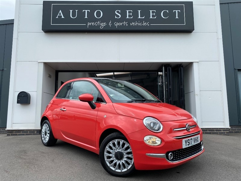 used Fiat 500 1.2 LOUNGE IMMACULATE!! 1 LADY OWNER!! in chesterfield