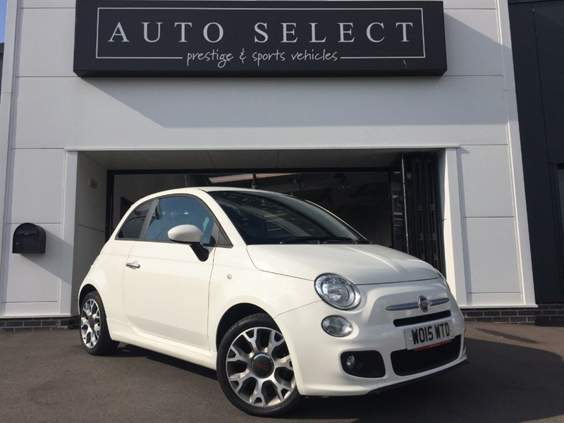 used Fiat 500 S STUNNING LITTLE CAR!1 GREAT SPEC!! in chesterfield