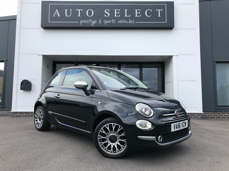 used Fiat 500 1.2 LOUNGE NAVIGATION in chesterfield