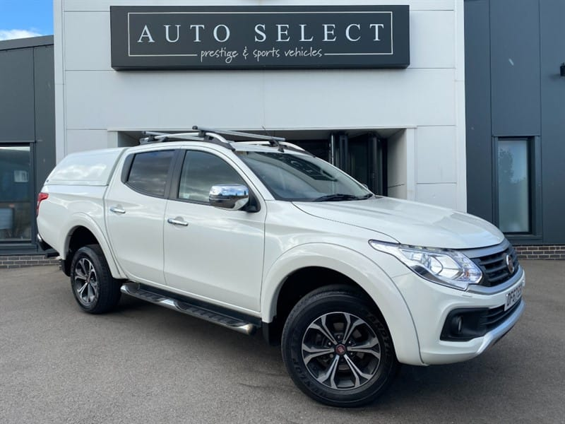 used Fiat Fullback 2.4D LX DCB TRUCKMAN BACK in chesterfield