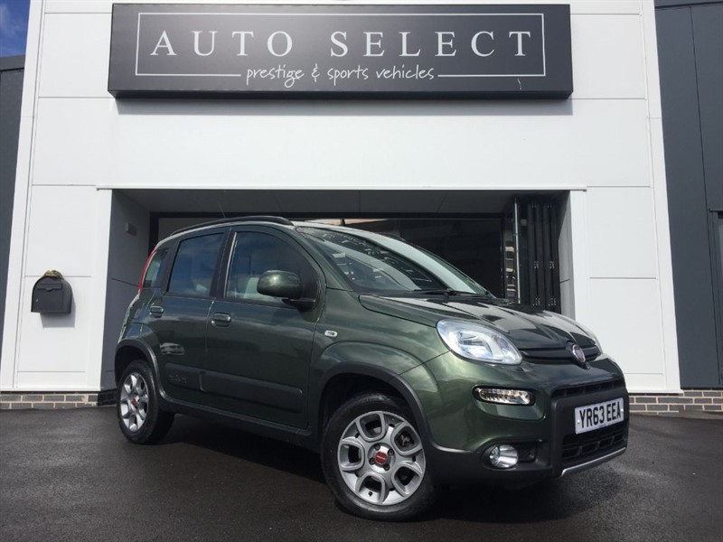 used Fiat Panda 1.2 MULTIJET 4X4 1 LADY OWNER!! in chesterfield