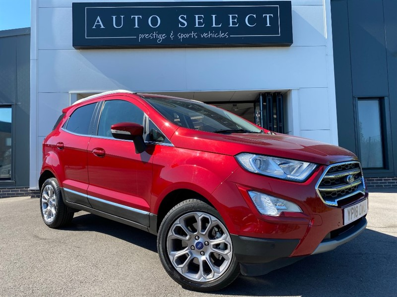 used Ford EcoSport 1.0 TITANIUM AUTO 1 OWNER!! IMMACULATE!! in chesterfield
