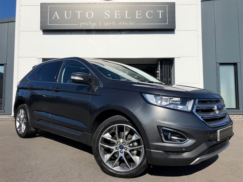 used Ford Edge TITANIUM 2.0 TDCI LUX AUTO MASSIVE SPEC!! 1 OWNER!! in chesterfield