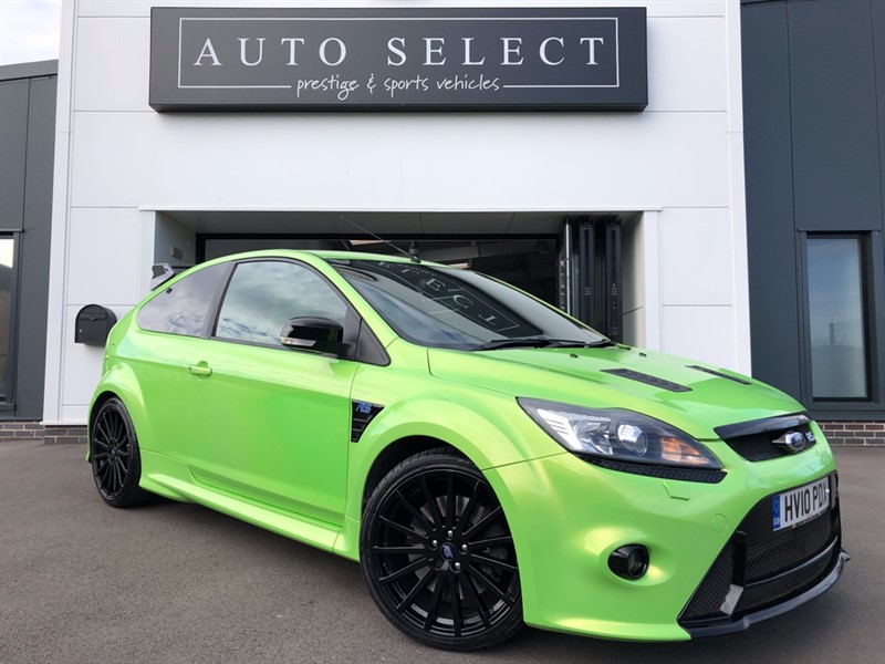 used Ford Focus RS LUX PACK 1 & LUX PACK 2 STUNNING CAR!! in chesterfield