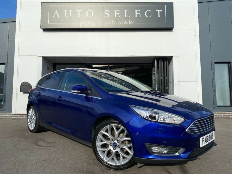 used Ford Focus 1.0 TITANIUM X NAVIGATION MASSIVE SPEC!! 1 OWNER!! in chesterfield