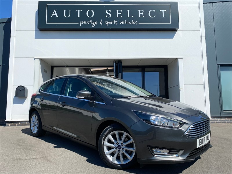 used Ford Focus TITANIUM 1.5 TDCI NAVIGATION in chesterfield