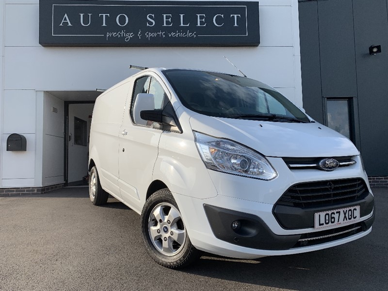 used Ford Transit Custom 290 LIMITED LR P/V VERY RARE AUTOMATIC!! in chesterfield