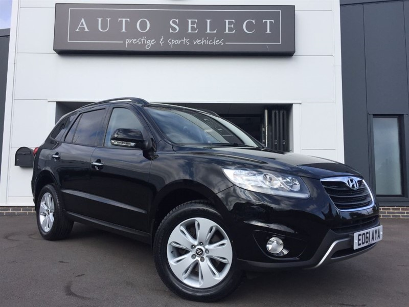 used Hyundai Santa Fe PREMIUM 2.2 CRDI AUTO 7 SEATER in chesterfield