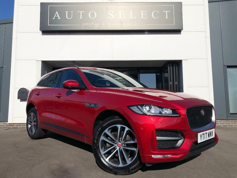 used Jaguar F-Pace 2.0d R-SPORT AWD 1 OWNER!! FJSH!! IMMACULATE!! in chesterfield