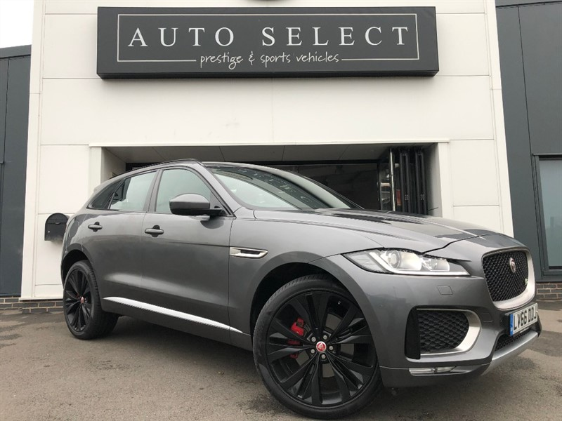 used Jaguar F-Pace 3.0 V6 S AWD PAN ROOF 1 OWNER!! MASSIVE SPEC!! in chesterfield