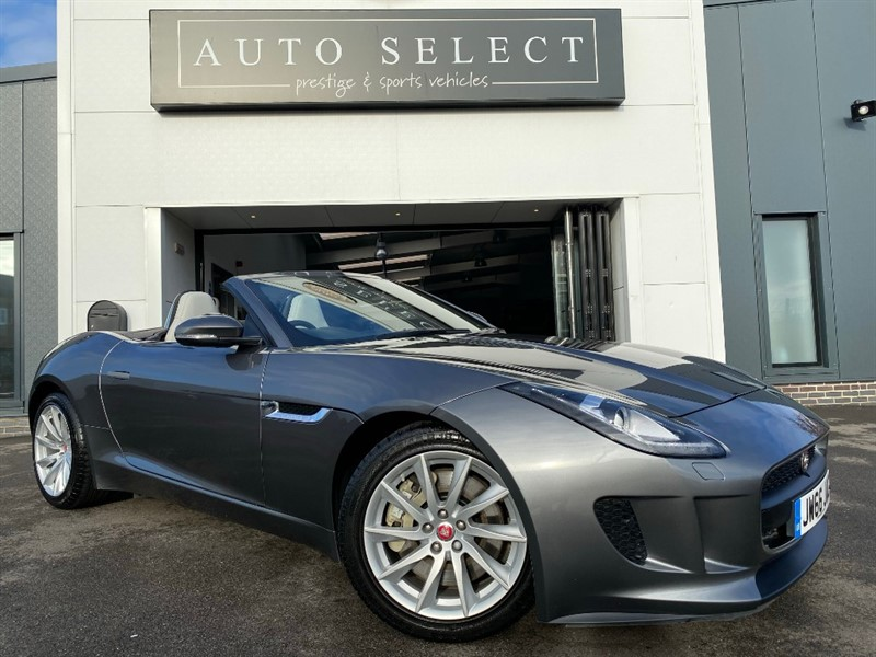 used Jaguar F-Type 3.0 V6 Supercharged 2dr Convertible STUNNING CAR!! 1 OWNER!! FJSH!! in chesterfield