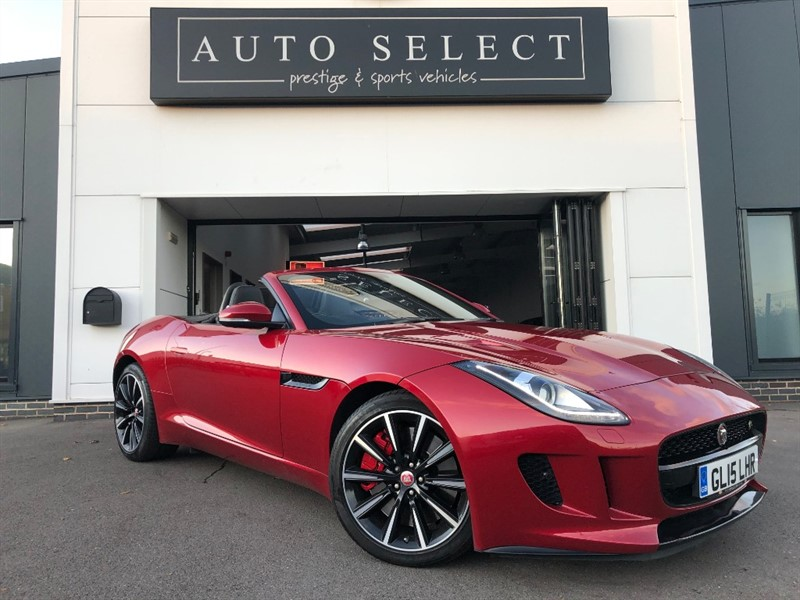 used Jaguar F-Type 3.0 V6 S AWD SUPERCHARGED MASSIVE SPEC!! IMMACULATE!! in chesterfield