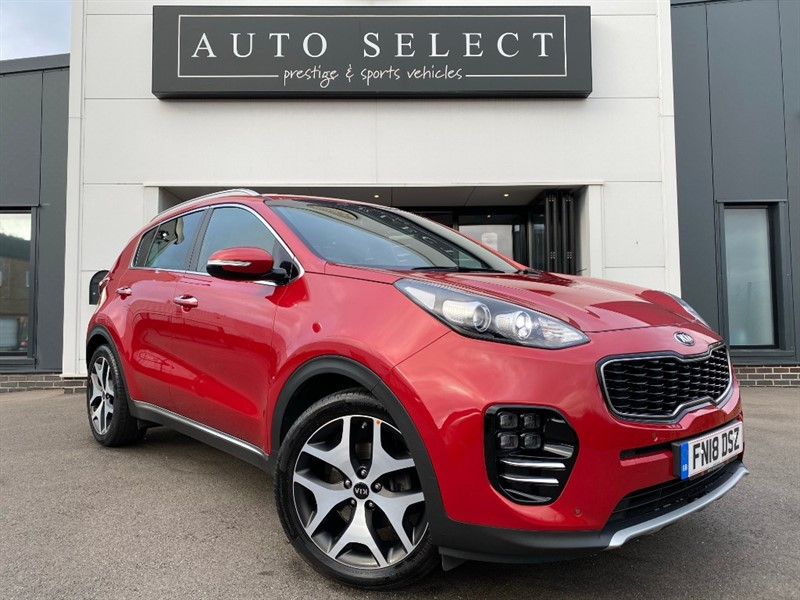 used Kia Sportage 1.6 GT-LINE MONSTER SPEC!! JUST SERVICED!! in chesterfield