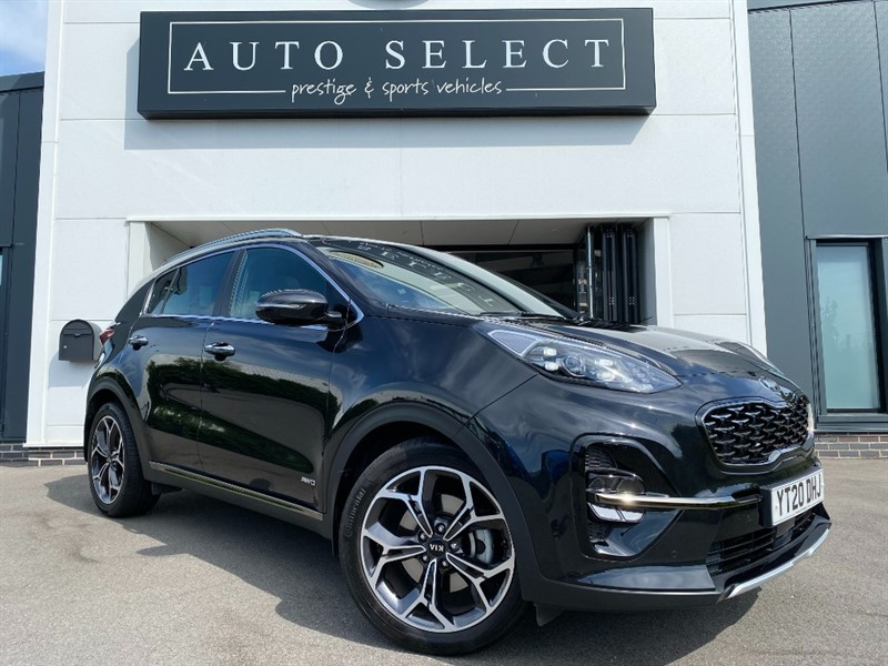 used Kia Sportage 1.6 GT-LINE S ISG MONSTER SPEC!! ONLY 3 MONTHS OLD!! in chesterfield