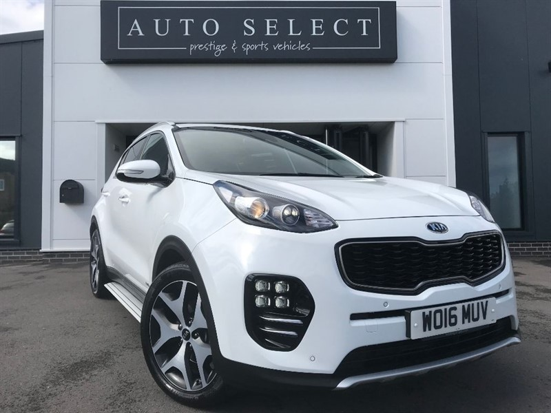 used Kia Sportage 2.0 CRDI GT-LINE MASSIVE SPEC!! 1 OWNER!! IMMACULATE!! in chesterfield