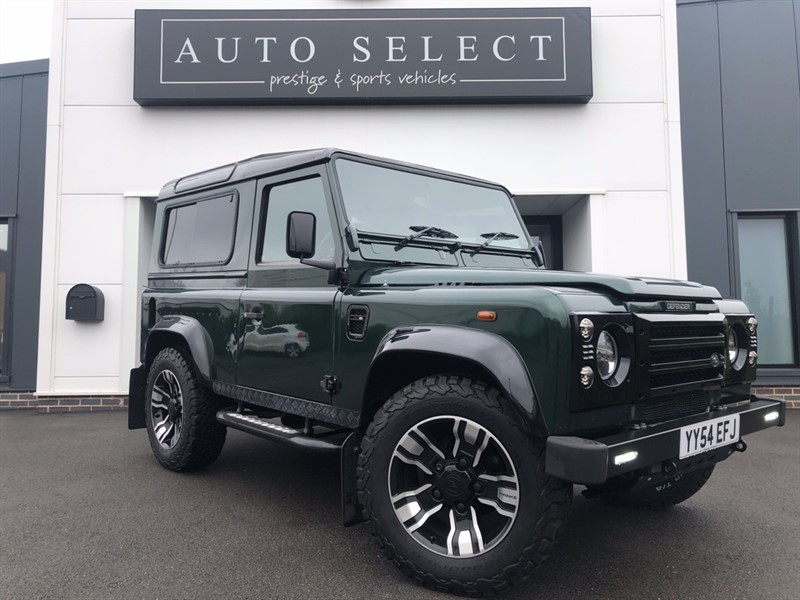 used Land Rover Defender 90 TD5 COUNTY STATION WAGON in chesterfield