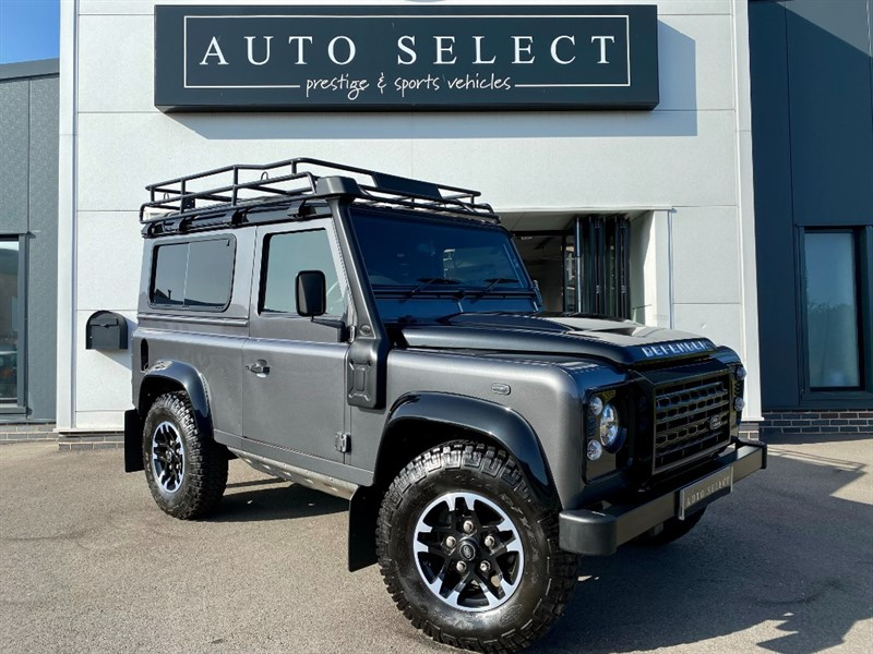 used Land Rover Defender TD DEFENDER 90 ADVENTURE STATION WAGON COLLECTORS MODEL in chesterfield