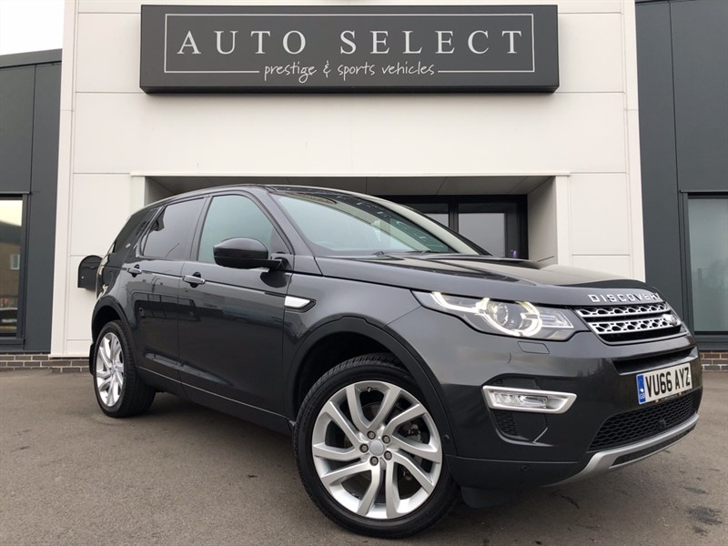 used Land Rover Discovery Sport 2.0 TD4 HSE LUXURY 1 OWNER!! IMMACULATE!! in chesterfield