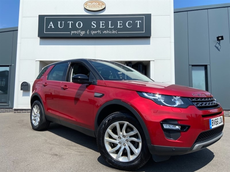 used Land Rover Discovery Sport 2.0TD4 SE TECH NAV!! PAN ROOF!! 7 SEATER 1 OWNER!! in chesterfield