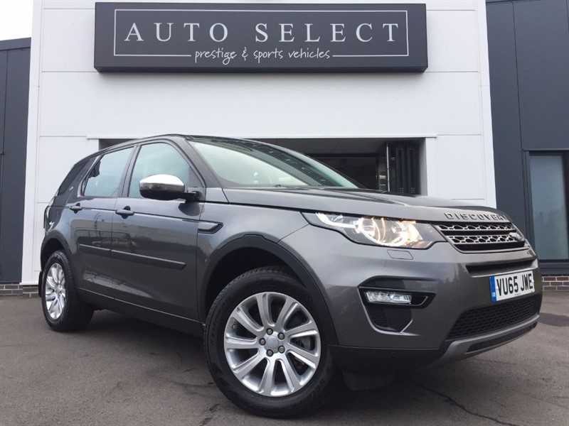 used Land Rover Discovery Sport TD4 SE TECH 7 SEATER in chesterfield
