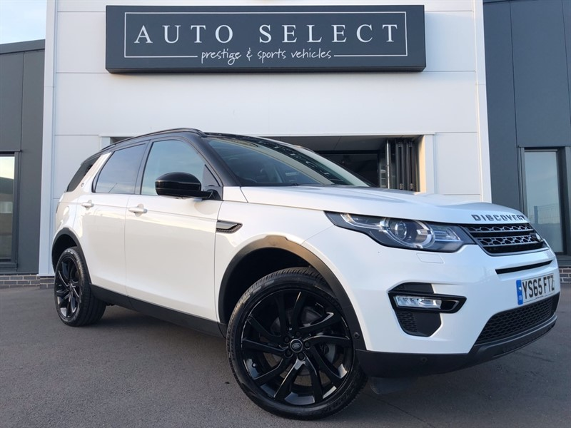 used Land Rover Discovery Sport 2.0 TD4 HSE LUXURY BLACK PACK!! 1 OWNER!! FLSH!! in chesterfield