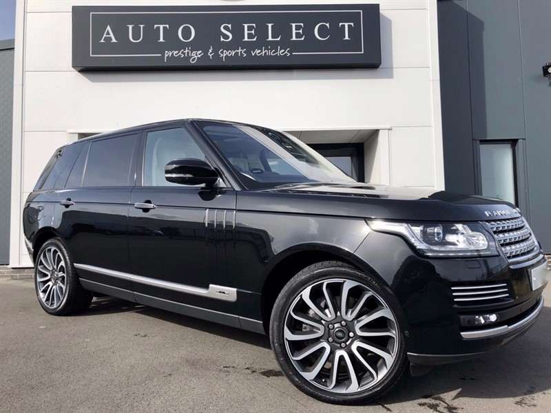 used Land Rover Range Rover 4.4 SDV8 AUTOBIOGRAPHY LWB EXECUTIVE REAR SEATING!! in chesterfield
