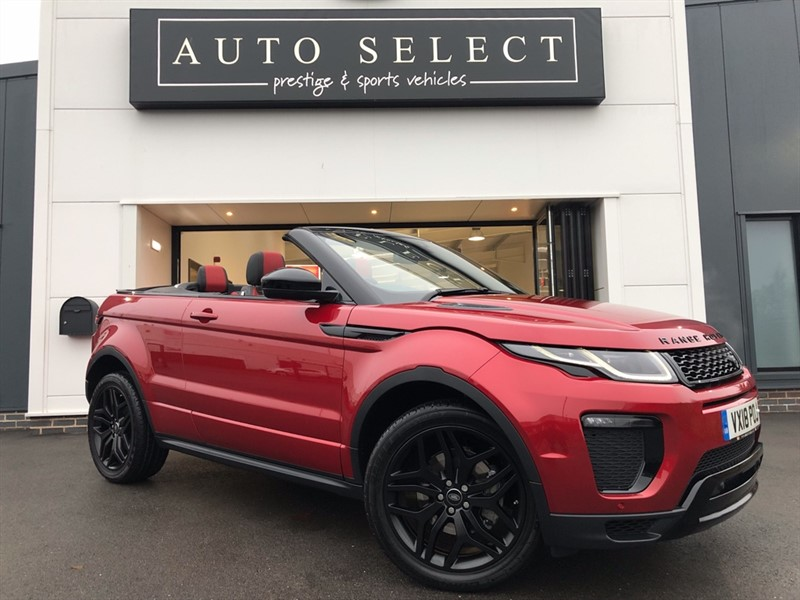 used Land Rover Range Rover Evoque 2.0SI4 HSE DYNAMIC RARE PETROL!! MASSIVE SPEC!! in chesterfield