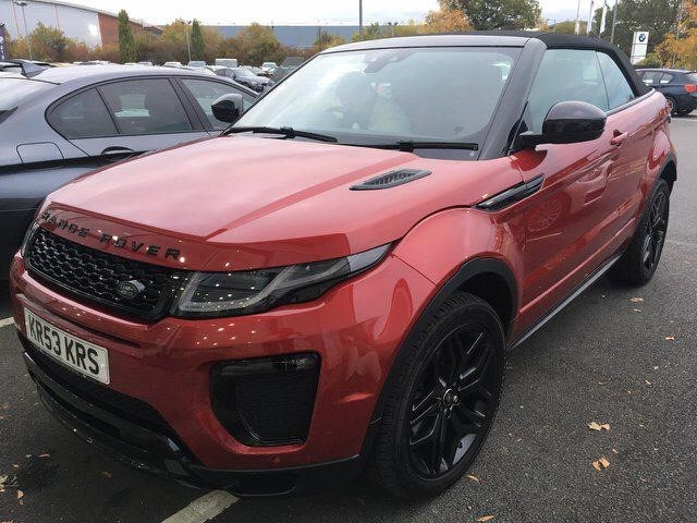 used Land Rover Range Rover Evoque SI4 HSE DYNAMIC in chesterfield