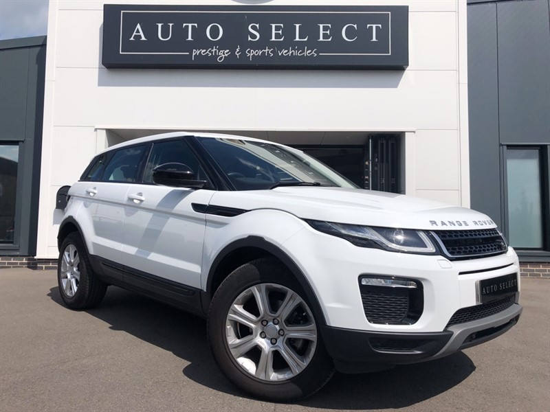 used Land Rover Range Rover Evoque ED4 SE TECH in chesterfield