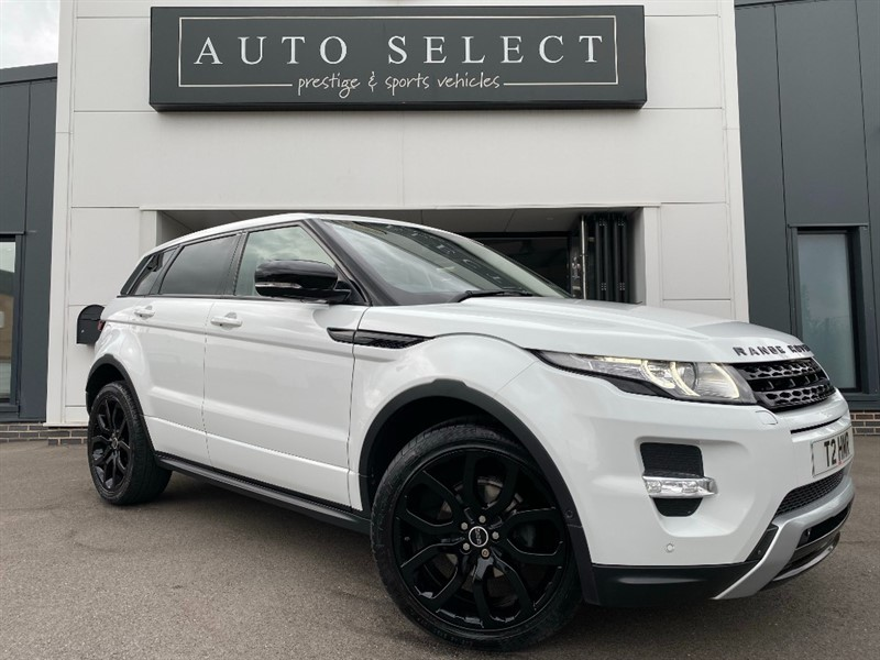 used Land Rover Range Rover Evoque SD4 DYNAMIC LUX MONSTER SPEC!! STUNNING CAR!! in chesterfield