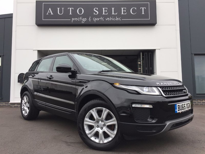 used Land Rover Range Rover Evoque 2.0 TD4 SE TECH 1 LADY OWNER!! FLSH!! in chesterfield