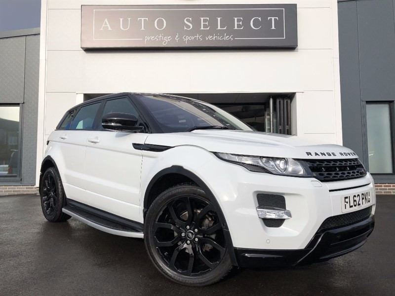 used Land Rover Range Rover Evoque 2.2SD4 DYNAMIC MASSIVE SPEC!! PAN ROOF!! BLACK PACK!! in chesterfield