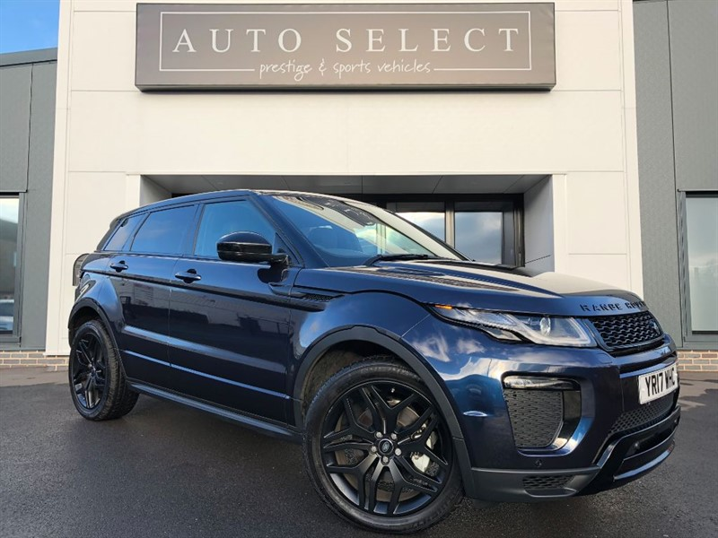 used Land Rover Range Rover Evoque 2.0 TD4 HSE DYNAMIC PAN ROOF!! BLACK PACK!! in chesterfield