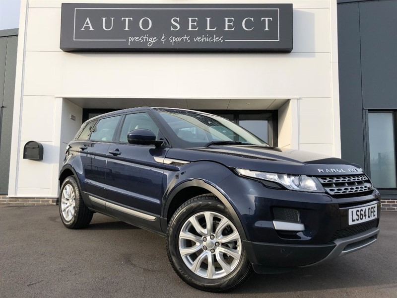 used Land Rover Range Rover Evoque SD4 PURE TECH PAN ROOF!! NAVIGATION!! in chesterfield