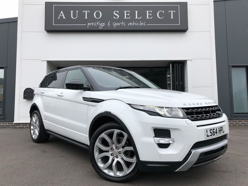 used Land Rover Range Rover Evoque 2.2 SD4 DYNAMIC 1 OWNER FLSH!! in chesterfield