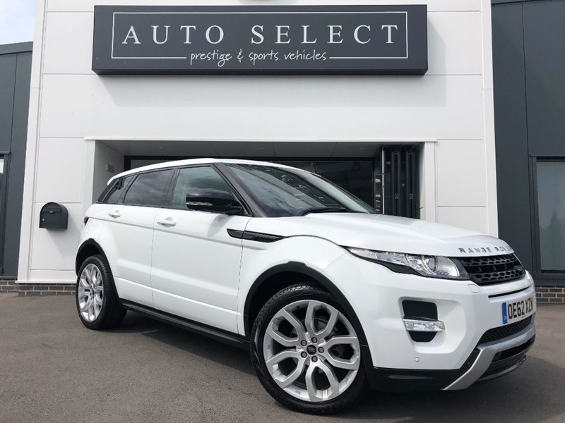 used Land Rover Range Rover Evoque SD4 DYNAMIC LUX MASSIVE SPEC!! in chesterfield