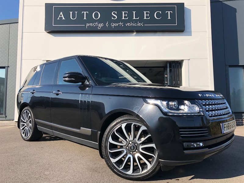 used Land Rover Range Rover 3.0 TDV6 AUTOBIOGRAPHY 1 OWNER!! FLSH!! IMMACULATE!! in chesterfield