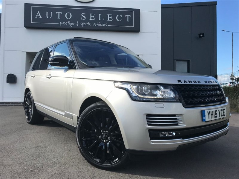 used Land Rover Range Rover 5.0 V8 SUPER CHARGED AUTOBIOGRAPHY EXCLUSIVE PAINT!! in chesterfield