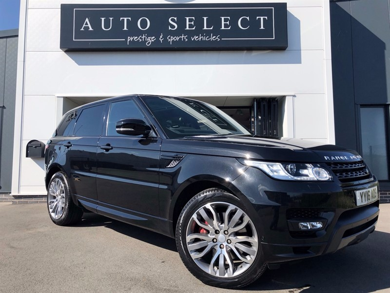 used Land Rover Range Rover Sport 4.4 SDV8 AUTOBIOGRAPHY DYNAMIC MONSTER SPEC!! REAR ENT!! in chesterfield