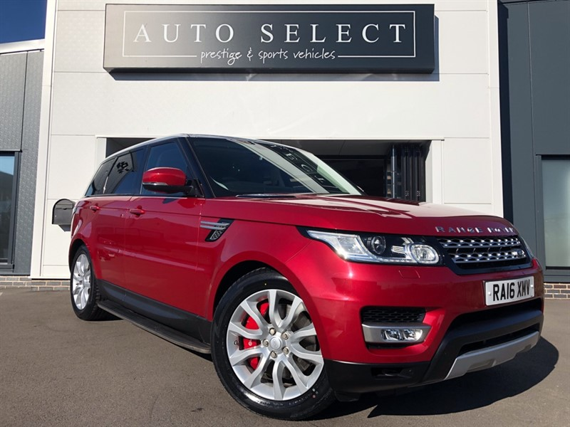 used Land Rover Range Rover Sport 3.0 SDV6 HSE 1 OWNER!! FLSH!! JUST SERVICED!! in chesterfield